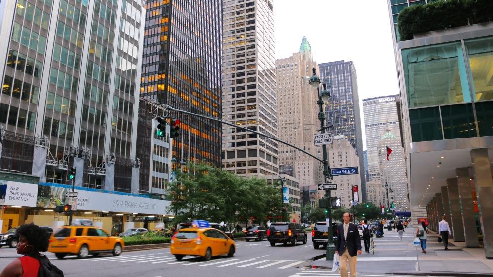 Park Avenue, Manhattan, New York, USA by Jamal Browne