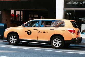 New York Yellow Cab by Jamal Browne