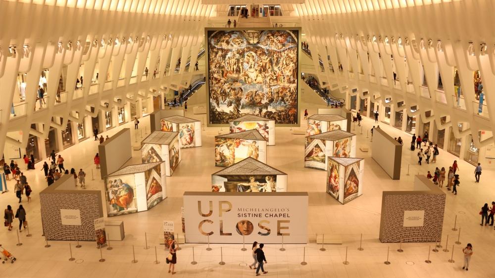 World Trade Center Mall & Subway Station