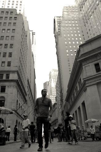 Wall Street by Jamal Browne
