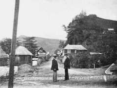 This photograph is believed to have been taken in Chateaubelair on May 6, 1902.
